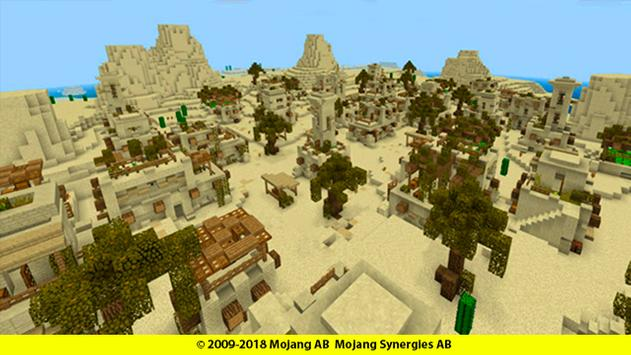 Hide and Seek map for mcpe: Desert poster