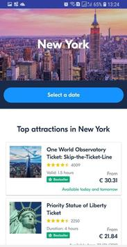 New York Best Tickets and Tours, City Guide poster