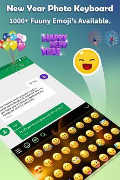 New Year Photo Keyboard 2019 screenshot 3