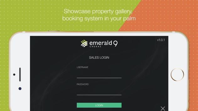 Emerald 9 poster