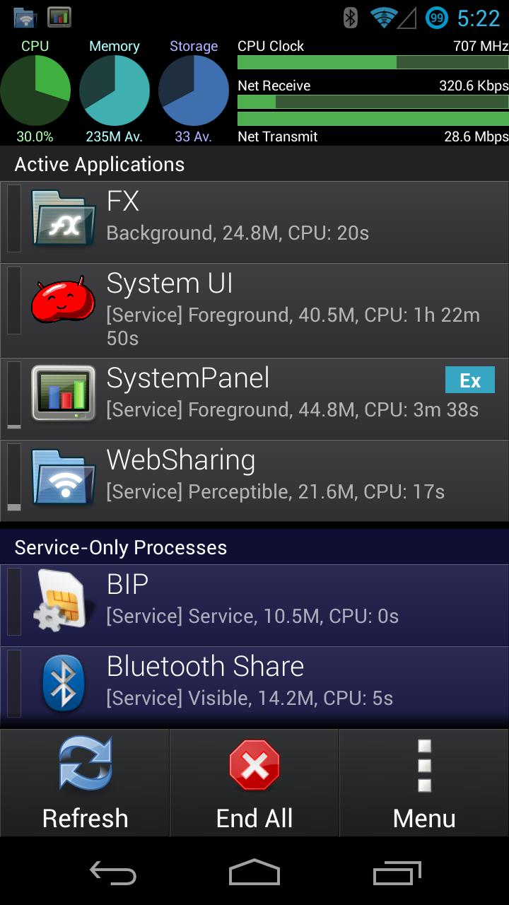 SystemPanel App / Task Manager APK 1.5.1 Download for