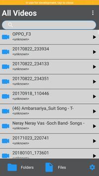 TubeM HD Video Player - All Fomat Video support screenshot 1
