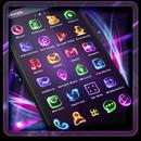 Neon Light Icon Packs (Theme) APK