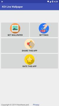 Koi Wallpaper Free screenshot 1