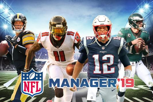 NFL 2019: Manager de Ligue de Football Affiche