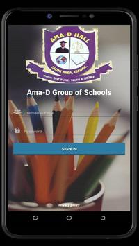 Ama-D Group of Schools poster