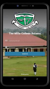 "The Mijja College - Bulamu ""CHRIST THE KING"" poster"