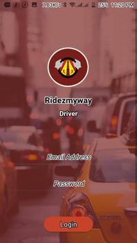 Ridezmyway Driver screenshot 1