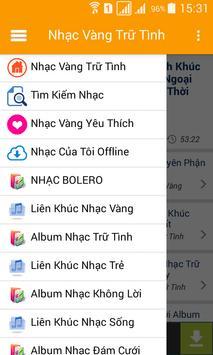 Nhac Vang - Nhac Tru Tinh Bolero screenshot 2