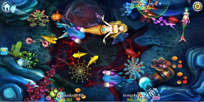 Bắn cá săn thưởng - bắn cá online screenshot 2