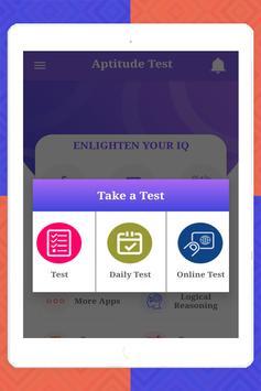 Aptitude Test screenshot 15