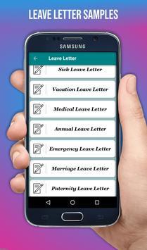 Letter Templates screenshot 2