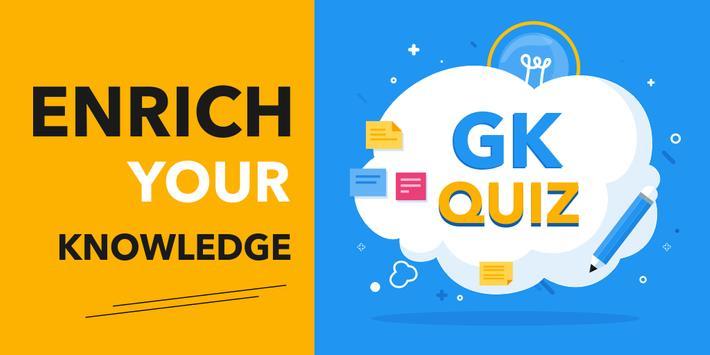 General Knowledge Quiz : World GK Quiz App poster