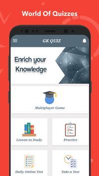 General Knowledge Quiz : World GK Quiz App screenshot 1