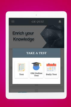 General Knowledge Quiz : World GK Quiz App screenshot 23