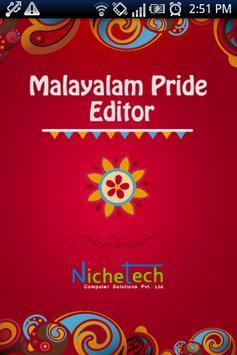 Malayalam Pride Editor poster