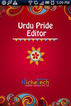 Urdu Pride Urdu Editor poster