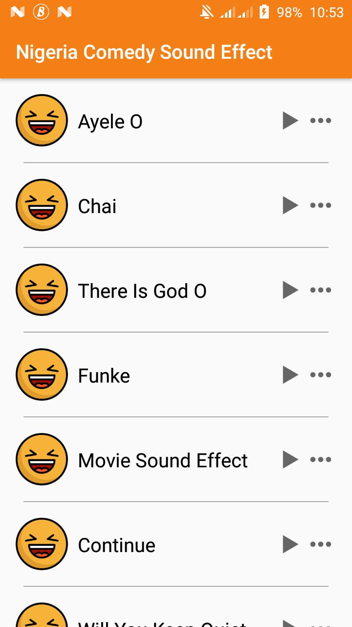 Sound Effects for Naija Comedy Drama -Funke, Ayele for