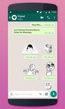 Memes Stickers For Whatsapp poster