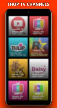 Thop Tv guide 2020 - free live tv movies tips स्क्रीनशॉट 1