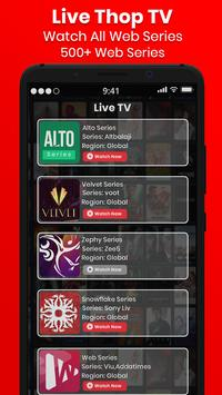 Thop Tv guide 2020 - free live tv movies tips स्क्रीनशॉट 2