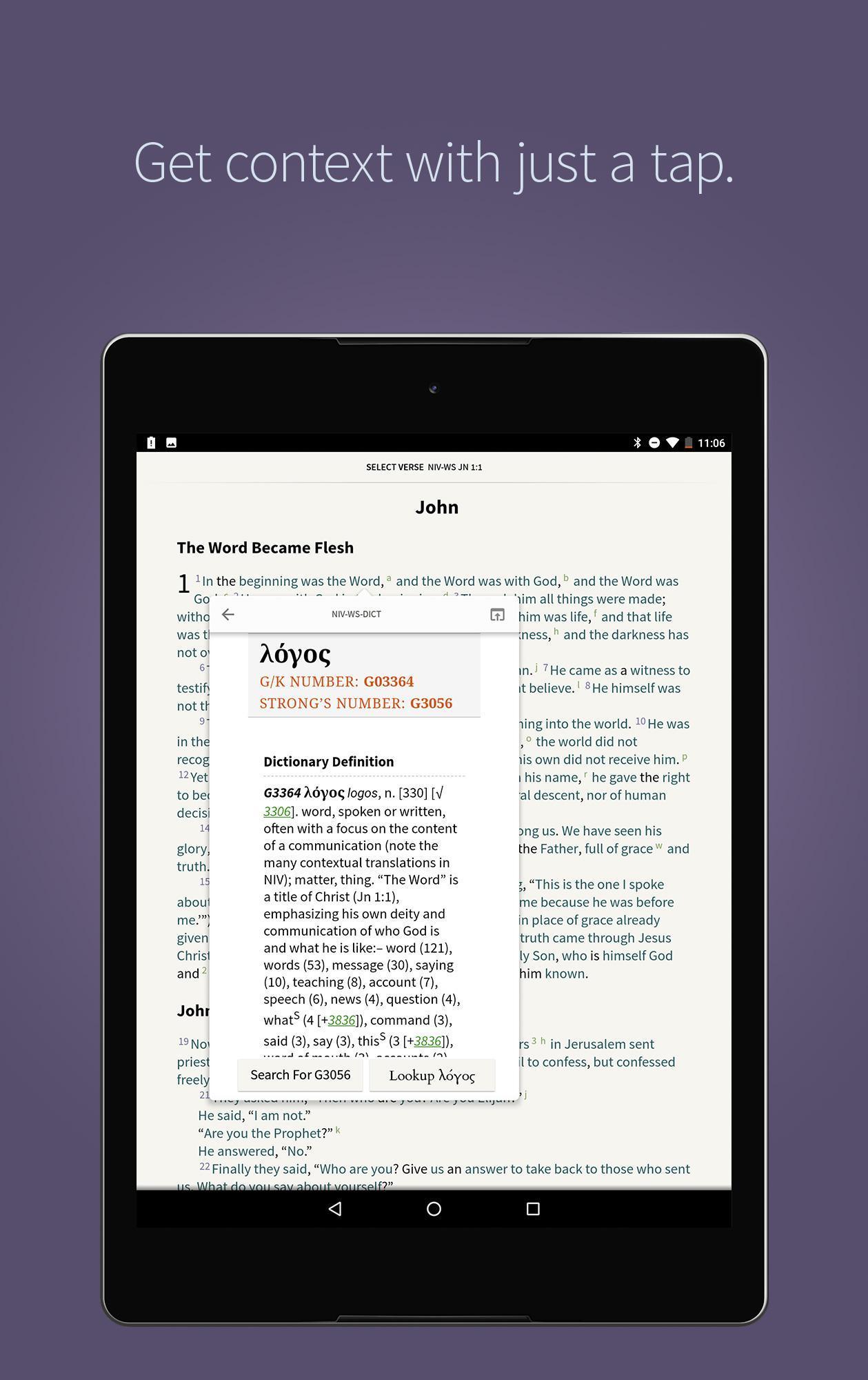 NKJV Bible by Olive Tree - Offline, Free & No Ads for