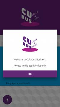 Cultuur & Business poster