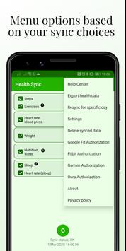 Health Sync screenshot 4
