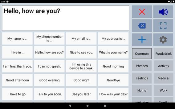 Speech Assistant स्क्रीनशॉट 10