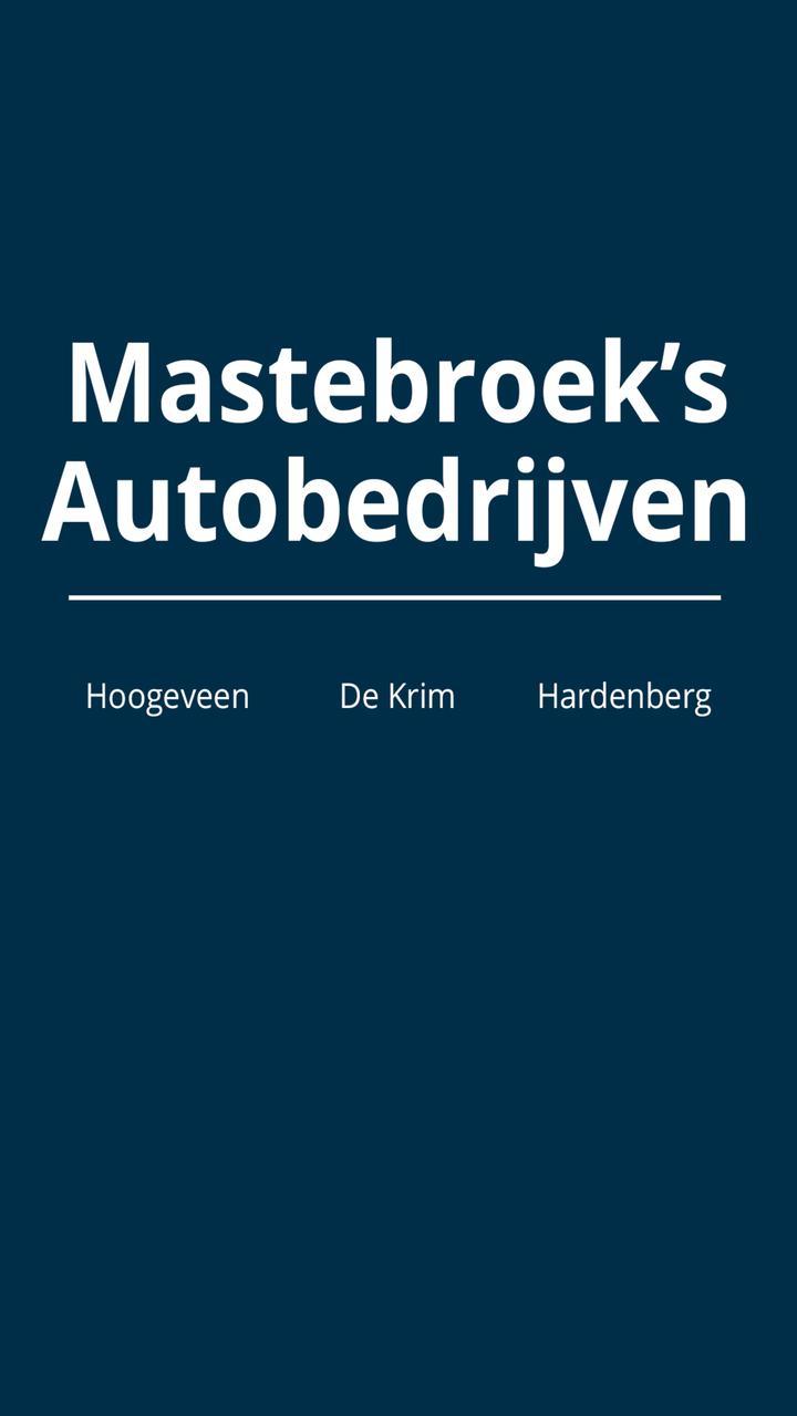 Mastebroek's Autobedrijven poster