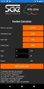 SAE Decibels Calculator screenshot 1