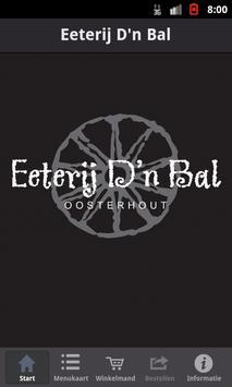 Eeterij D'n Bal poster