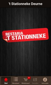 't Stationneke Deurne poster