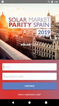 Solar Market Parity Spain 2019 poster