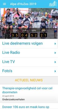 Alpe d'HuZes app 2020 screenshot 1