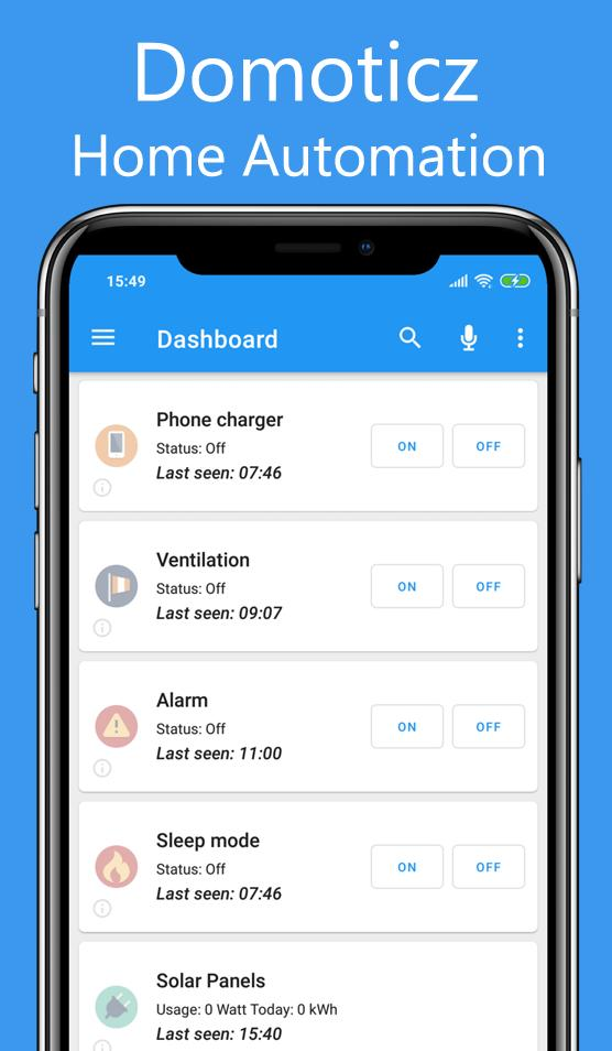 Domoticz Home Automation Lite for Android - APK Download