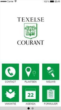 Texelse Courant poster