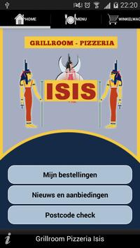 Grillroom ISIS Roosendaal poster