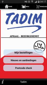 Tadim poster