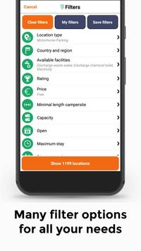 All Motorhome Parkings Lite - Campercontact screenshot 3