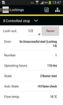 Remeha Smart Service App تصوير الشاشة 1