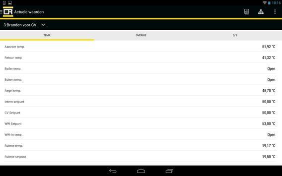 Remeha Smart Service Tool screenshot 10