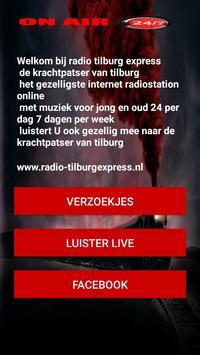 Radio-TilburgExpress screenshot 1