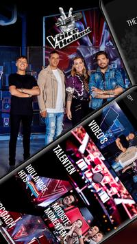 The voice of Holland app-poster