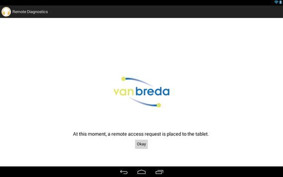 van Breda Remote Diagnostics screenshot 1