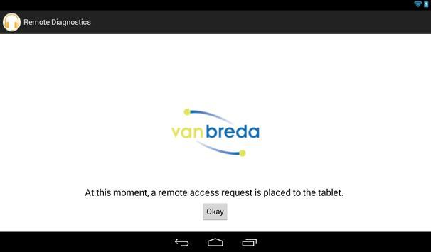 van Breda Remote Diagnostics screenshot 2