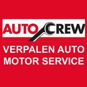 Verpalen auto motor service icon