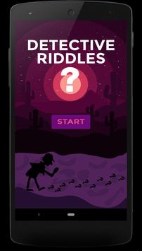 Detective Riddles poster