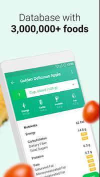 Calorie Counter स्क्रीनशॉट 2