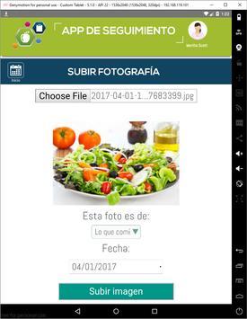 App de seguimiento syot layar 6